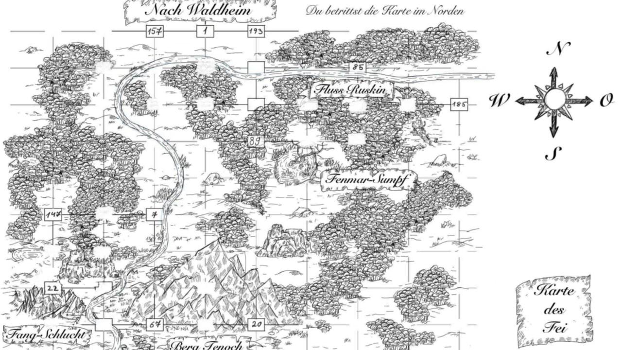 Downloads Karten Das Feuer des Mondes
